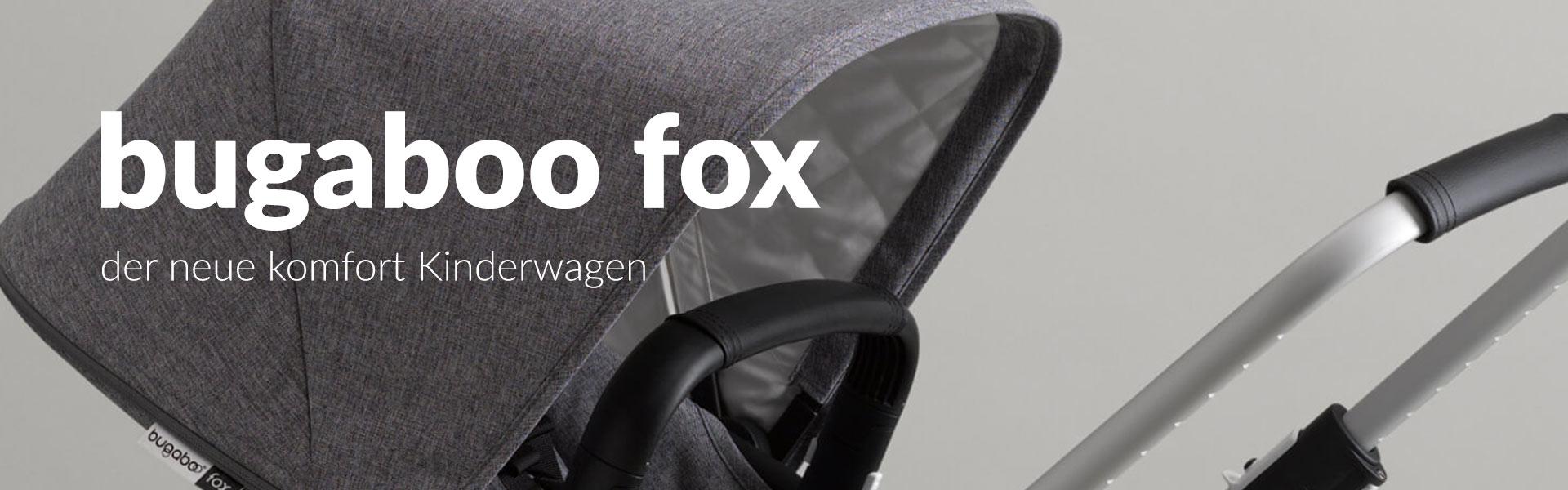 Bugaboo Fox+ Kinderwagen - Artikel
