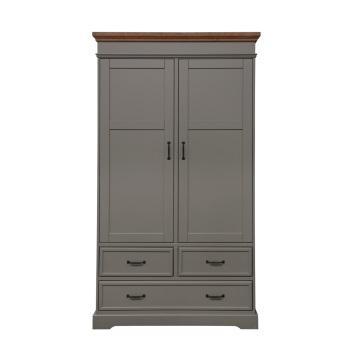 kidsmill schrank 2 t rig earth grau holz marken kidsmill earth grey wood. Black Bedroom Furniture Sets. Home Design Ideas