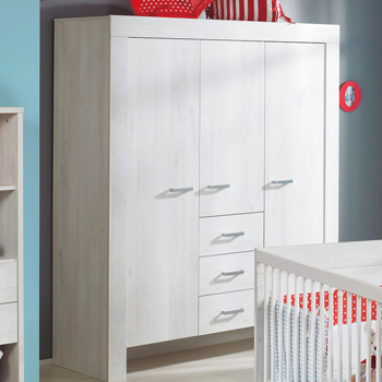 paidi mees babyzimmer mit schrank 3 t rig scandic wood. Black Bedroom Furniture Sets. Home Design Ideas