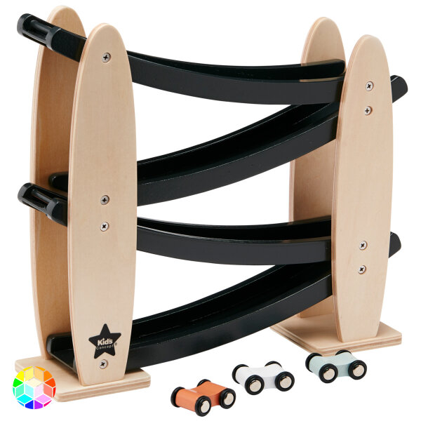 Kids Concept Kugelbahn mit Autos