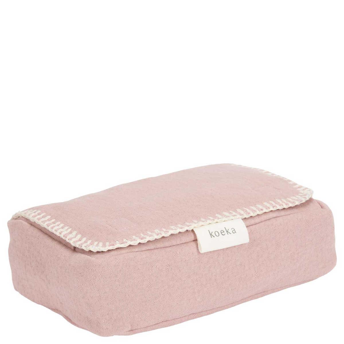 Koeka Bezug für Feuchttücher Runa old pink