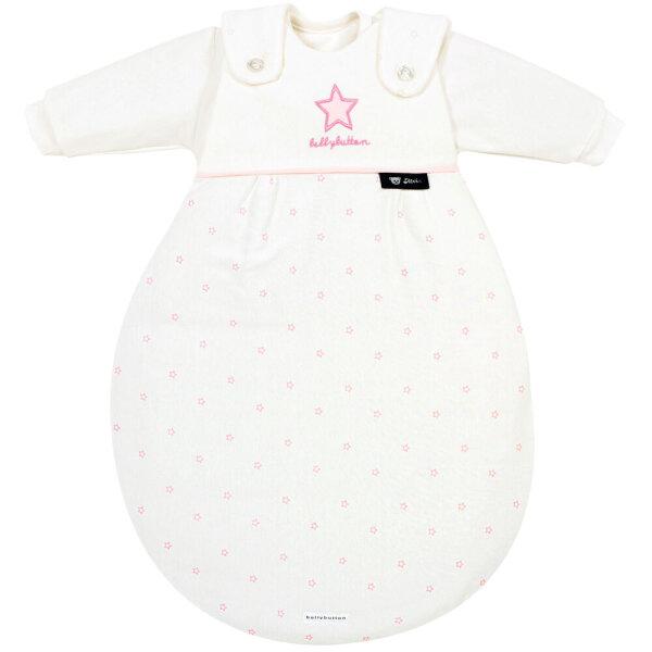 Alvi 799-2 Baby-Mäxchen Schlafsack 3tlg. bellybutton Classic Star mit Stick rose