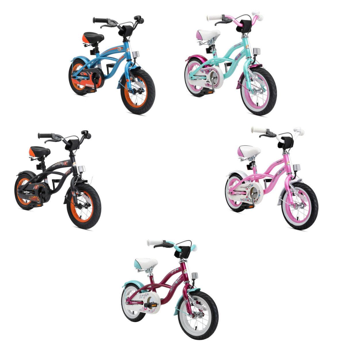 Star Trademarks Kinderfahrrad Bikestar 12 Zoll - Deluxe Cruiser
