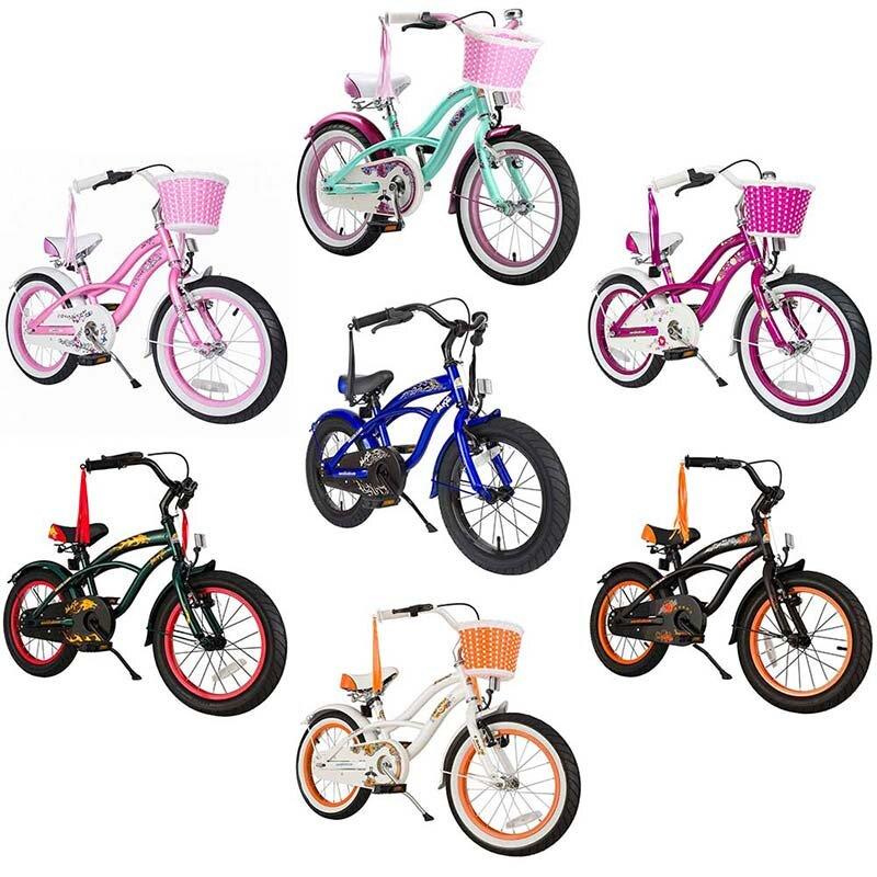 Star Trademarks Kinderfahrrad Bikestar 16 Zoll - Deluxe Cruiser
