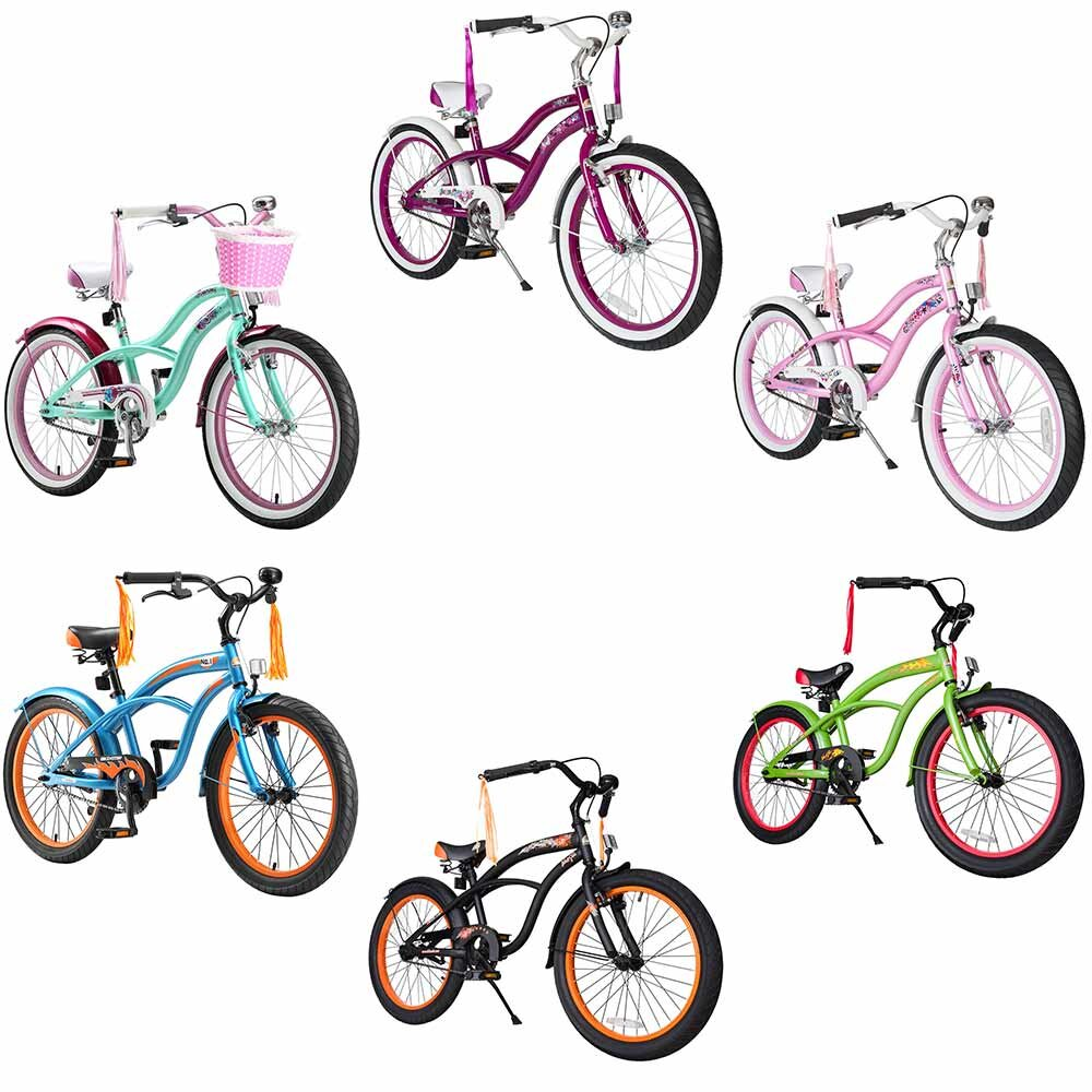Star Trademarks Kinderfahrrad Bikestar 20 Zoll - Deluxe Cruiser