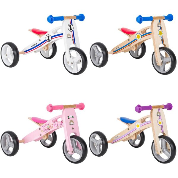 Kinderlaufrad Bikestar 7 Zoll - Natur Holz