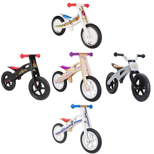 Kinderlaufrad Bikestar 12 Zoll - Natur Holz