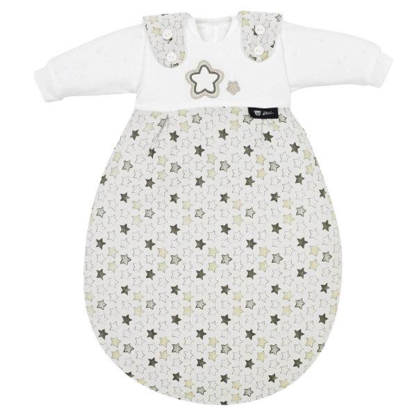 Alvi Baby-Mäxchen 3tlg. Super Soft Stern und Sternchen grau