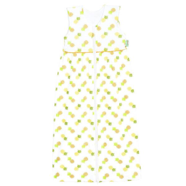 Odenwälder Jersey-Schlafsack Anni pineapple yellow