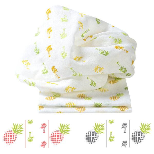 Odenwälder Doppelmull-Windeln sun 3er-Pack