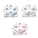 Odenwälder Doppelmull-Windeln stars and stripes 3er-Pack