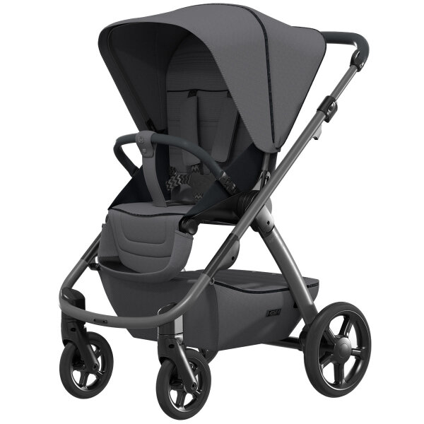 Moon NoOne Kombi-Kinderwagen - Anthrazit - Kollektion 2021