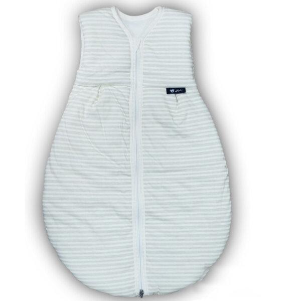 Alvi 424101056 Mäxchen Schlafsack Thermo Streifen beige 70cm