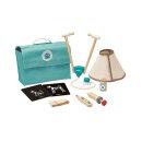 PlanToys Holzspielzeug Tierarzt-Tasche Set