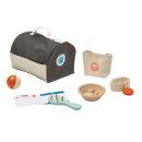 PlanToys Holzspielzeug Tierpflege Set