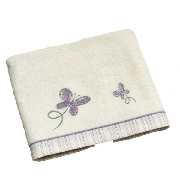 Be Bes Collection 174-27 Badetuch Butterfly lila 70x120