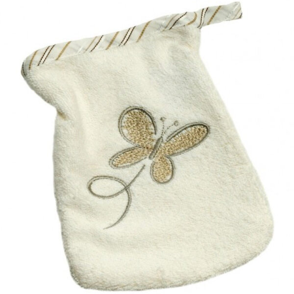 Baby Waschlappen Be Bes Collection Butterfly - braun