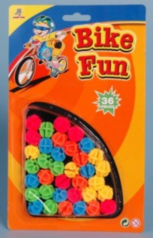 Johntoy 20602 Fahrradspeichen-Perlen Bike Fun