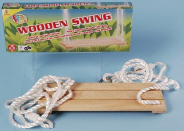 Johntoy 29311 Swing time Holz Schaukel für Kinder