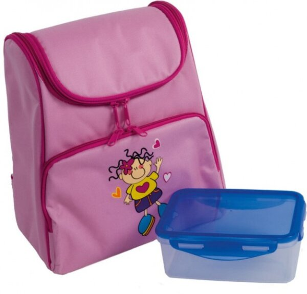 Bieco 04-000741 Picknick Rucksack/Kühlfach mit Lunchbox