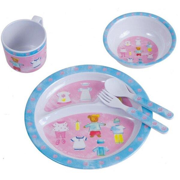 Bieco 04-001151 Melamin Ess-Set Teddy