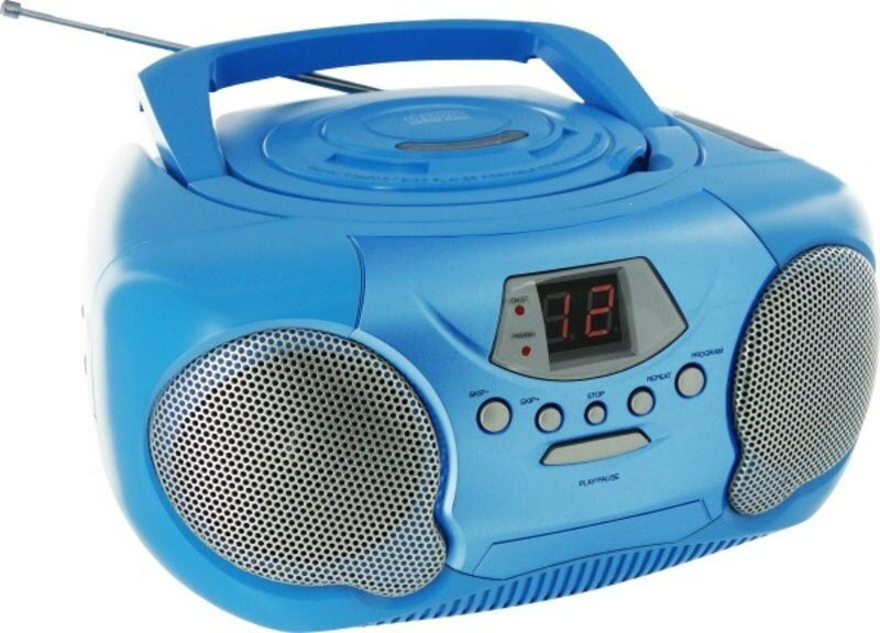 Vedes Tragbares CD/Radio - Kids blau