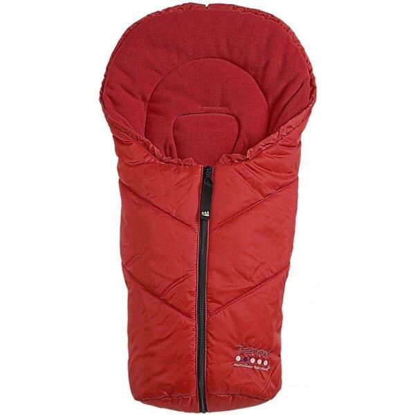 Odenwälder 11027-360 Schalensitz Fusssack Teddy P5 rot