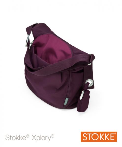 Stokke Xplory 177005 Wickeltasche purple