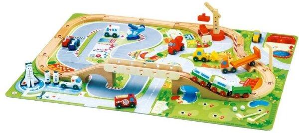 Sevi 82086 Set Eisenbahn Autodrom