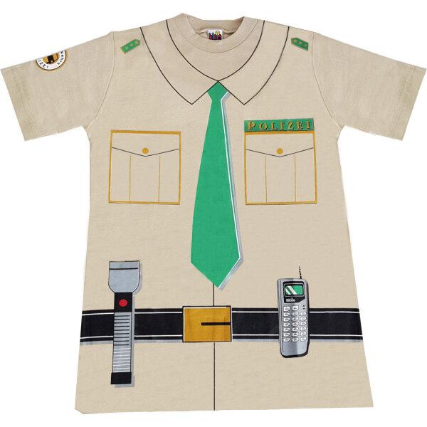 Theo Klein 8866 - T-Shirt Polizei Gr. 128 Polizei Kostüm Kinder