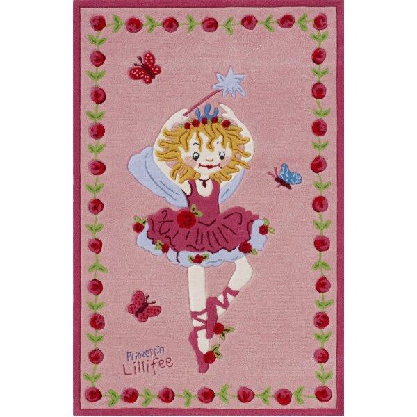 Teppichwelten 2200-01 Kinderteppich Prinzessin Lillifee 110 x 170 cm