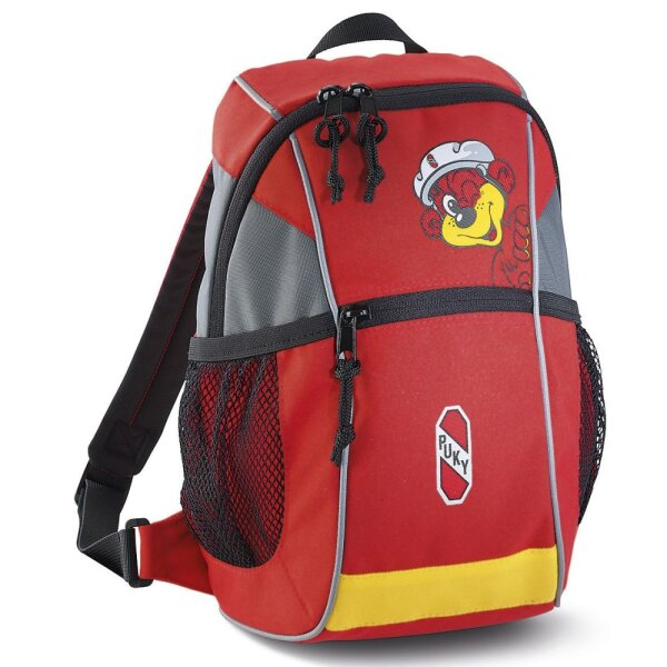 Puky 9700 RS Kinder Rucksack rot/gelb