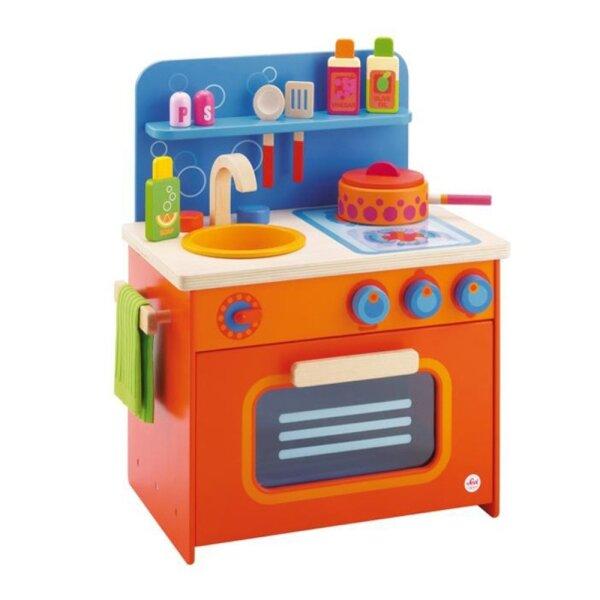 Sevi 82270 Spielküche mit Ofen aus Holz