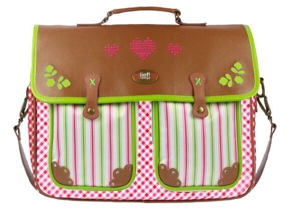Lief! Lifestyle - Doily 440-4827 Schultertasche pink