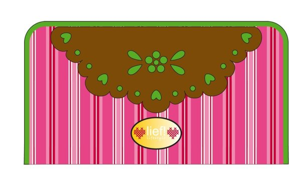 Lief! Lifestyle - Doily 440-4833 Geldbeutel pink