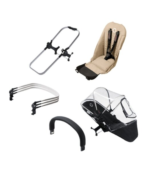 Bugaboo 180112SA01 Donkey Duo Extension Set sand