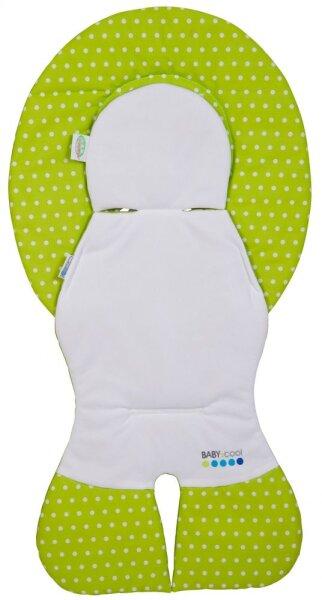 Odenwälder 10165-1997 Babycool- Auflage für Babyschalen Tupfen limette
