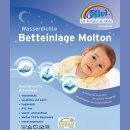Alvi 93733 Betteinlage Baby-Wohl-Molton Jersey 50x70 cm