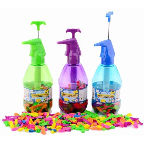 Johntoy 29454 Aqua Fun Wasserbomben mit Pumpe