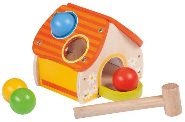 Joueco 80009 Hammerspiel-Haus