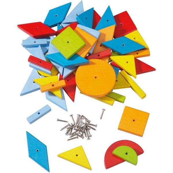 Haba 300169 - Nagelmaterial geometrische Formen Zusatzpackung