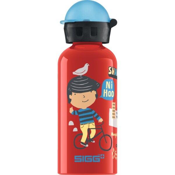 Sigg 8427.50 Trinkflasche Travel Boy Shanghai 0,4L