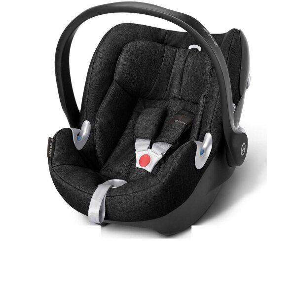 CYBEX Babyschale ATON Q PLUS - Black Beauty / black