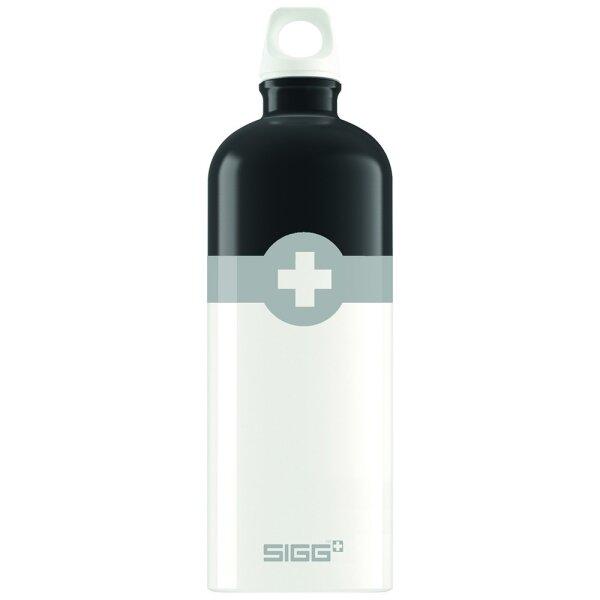 Sigg 8507.90 Swiss Logo Black 1.0L