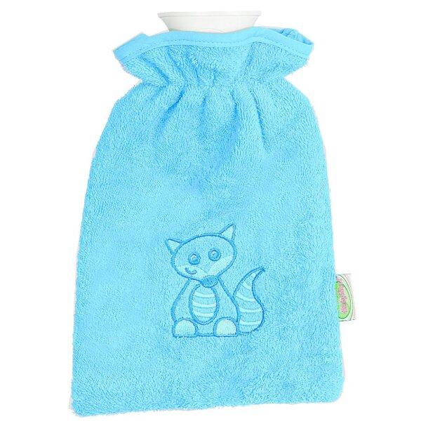 Odenwälder 30020-220 Baby- Wärmeflasche mit Frotteebezug türkis