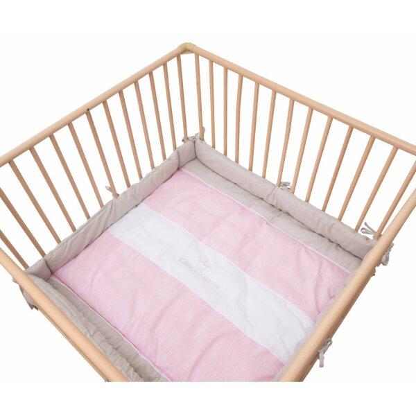Be Bes Collection 420-60 Laufgittereinlage Kleine Prinzessin neu rosa