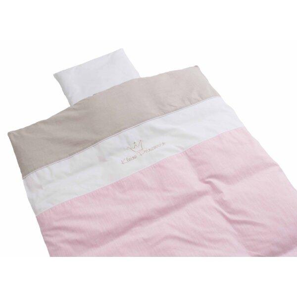Be Bes Collection 230-60 Bettwäsche Kleine Prinzessinnen neu rosa 80 x 80