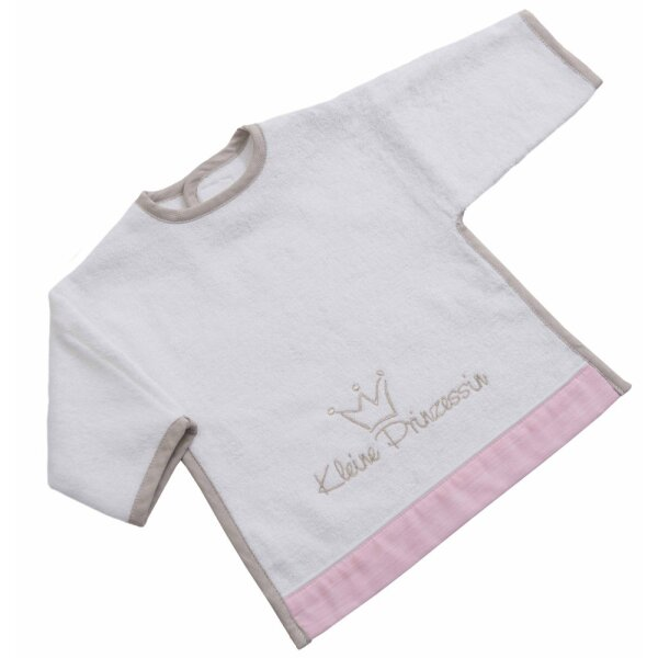 Be Bes Collection 530-60 Ärmel Lätzchen mit Klett Prinzessin neu rosa