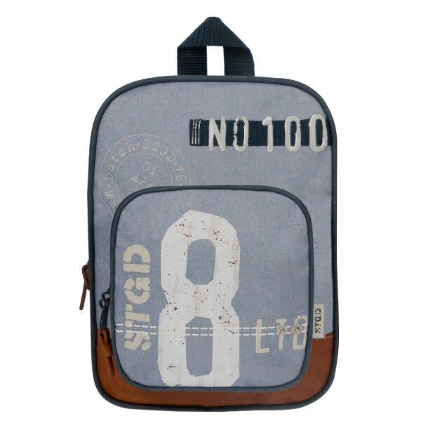 Stapelgoed Algebra Rucksack mit großer Fronttasche