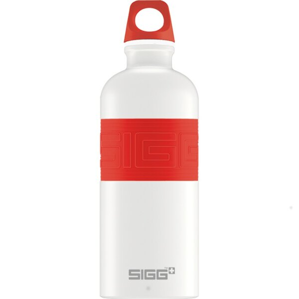 Sigg 8540.50 CYD PURE WHITE TOUCH RED 0.6L